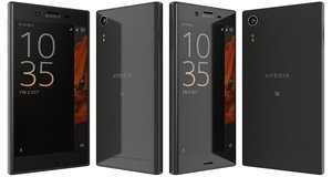 sony xperia xz mineral 3d model