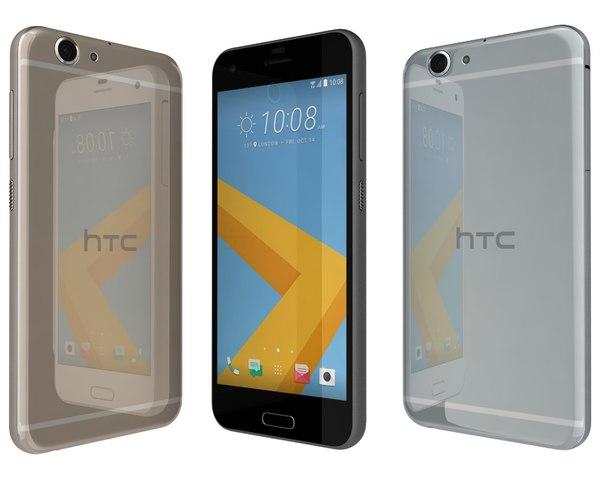 3d model of htc a9s colors