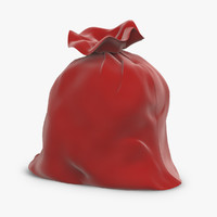 christmas father s bag 3d model
