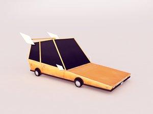 free 3ds mode cartoon car