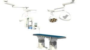 3d max operating room