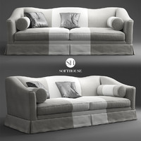 3d softhouse beniamino sofa model