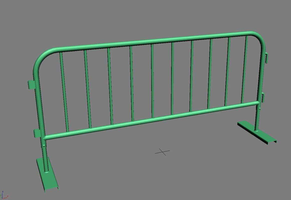 3d control barrier