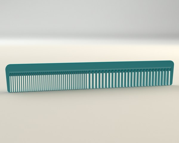 3d comb modelled model