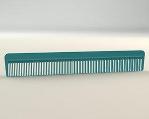 3d comb modelled model