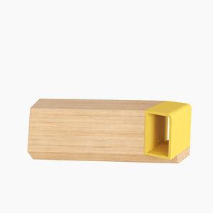 monolith wood 3d max