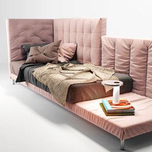 bonaldo alvar sofa 3d model