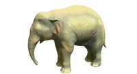 young elephant 3d 3ds
