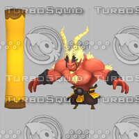 characters monkey king 3d max