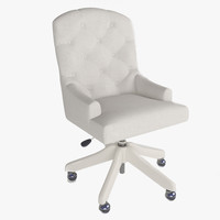 lorraine task chair 3d model