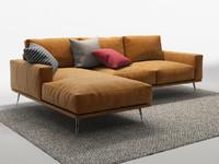 boconcept sofa 3d model