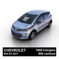 3d model 2017 chevrolet bolt ev