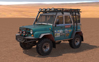 3ds uaz 31514 off-road