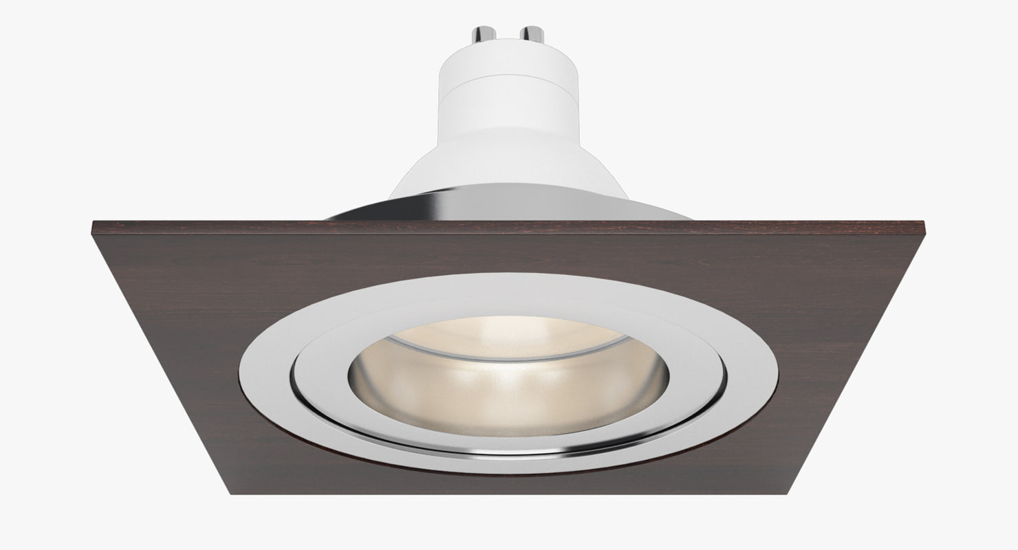 downlight spotlight light 3d 3ds