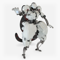 3d character mewtwo pokemon model