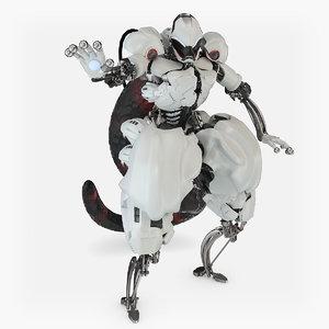 3d character mewtwo pokemon model