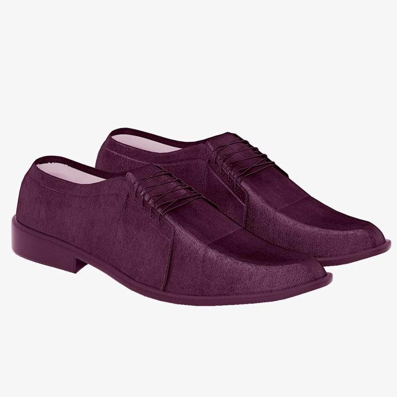 men shoe 3d max