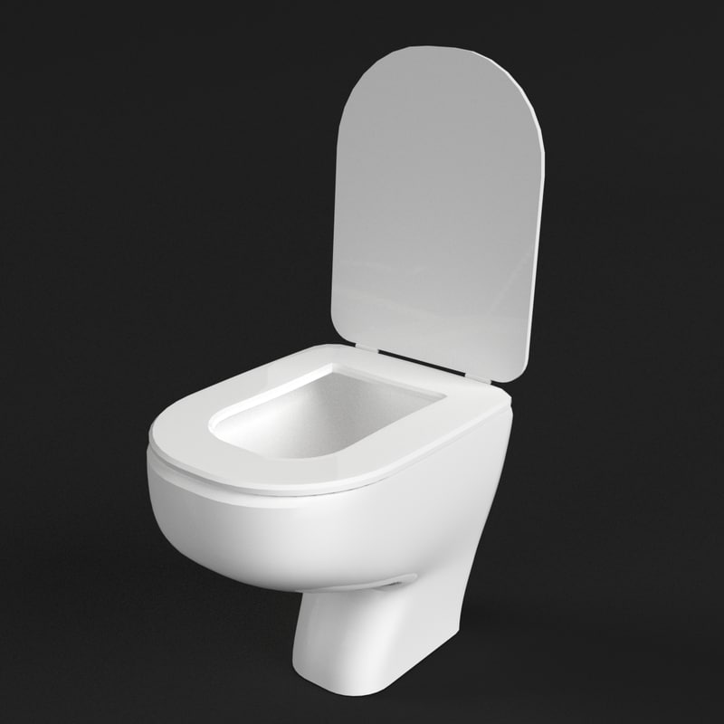 3d model water closet