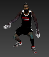 3d max james harden