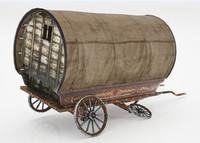 old caravan 3d max