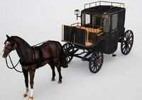 brougham horse max