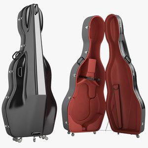 3d mammoth double bass model