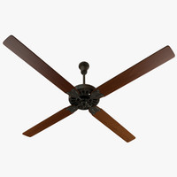 ceiling fan 1940s obj