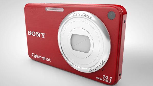 3d model sony cyber-shot