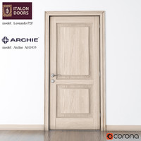 ITALON DOORS door with the door handle from the ARCHIE