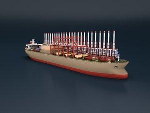 electric power ship c4d