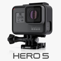 gopro hero5 black 3d model