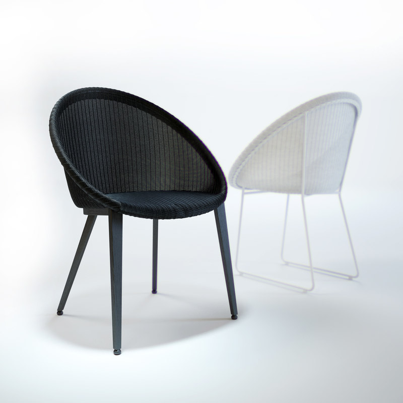 3d model of joe-jack-dining-chair