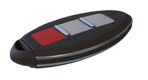 key fob 3d model