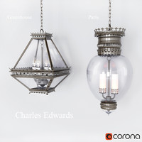 3d model edwards chandelier