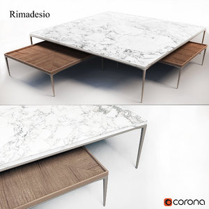 coffee table rimadesio max