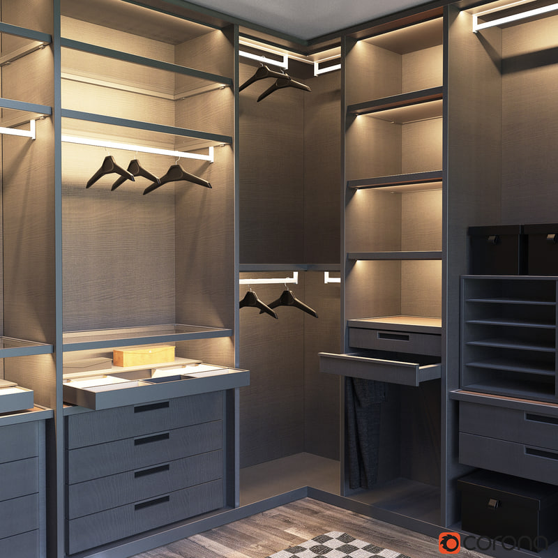 Senzafine Walk In Closet Poliform Max