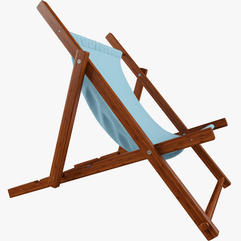 beach chair c4d
