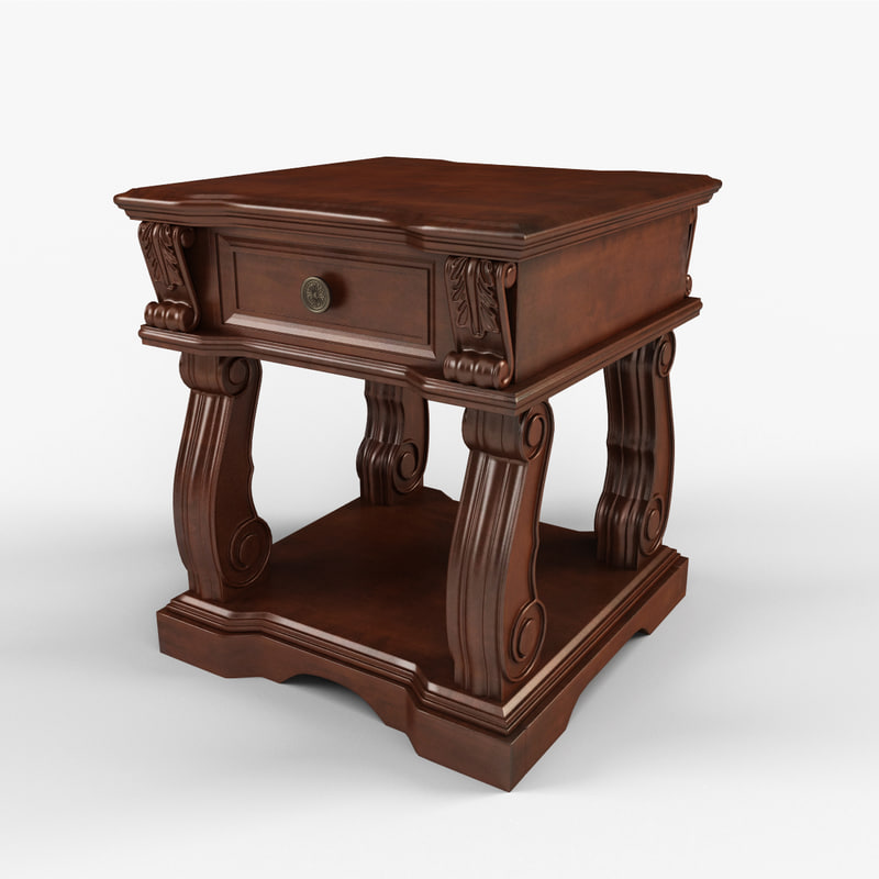 alymere end table 3d max