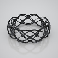 3d 3ds bracelet twisted