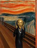 The Scream (Munch) 3D