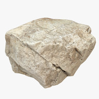 3d model of stone scan