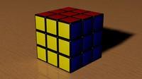 rubic cube 3d obj