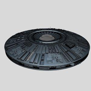ufo spaceship 3ds