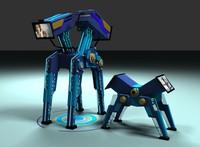 max robots dad son