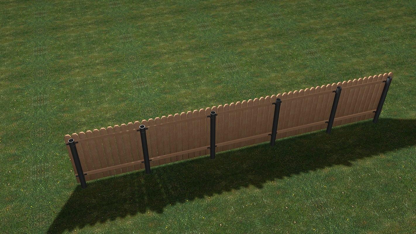 fence builder set c4d