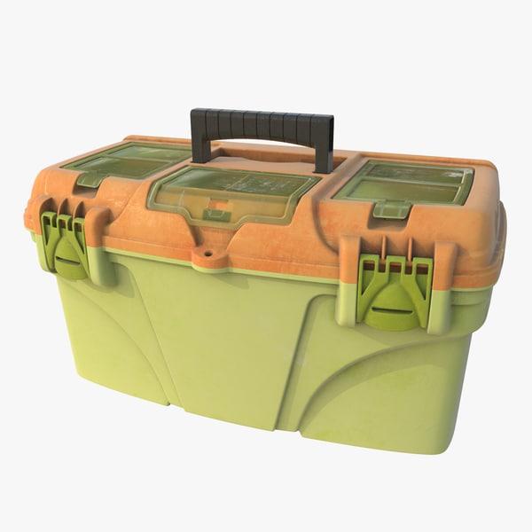 3d plastic chest instrument model