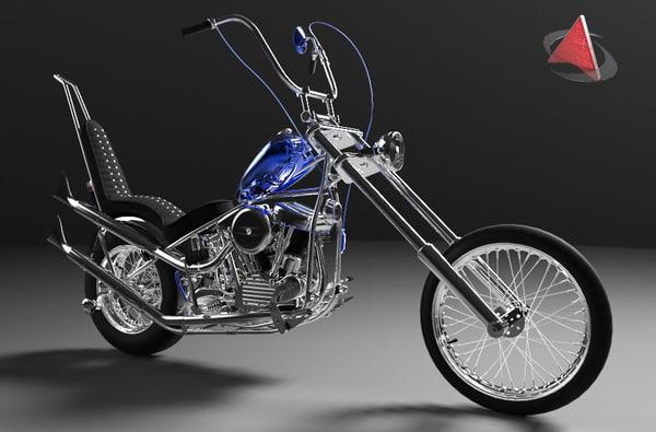 motorcycle costom 3ds