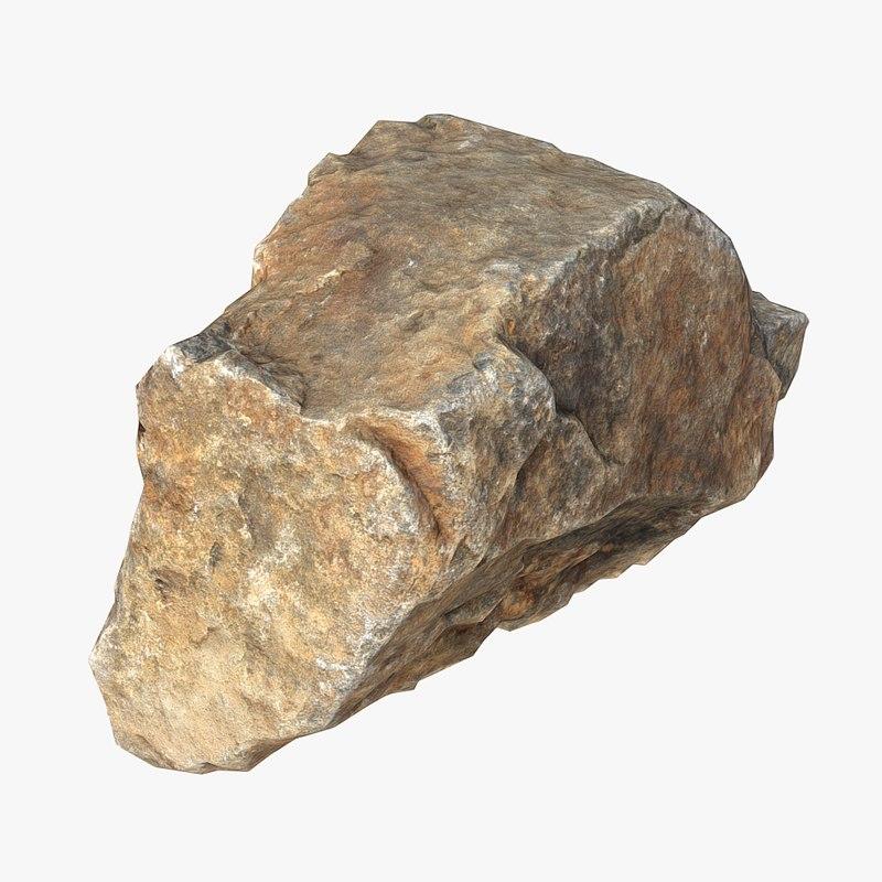 3d model stone scan