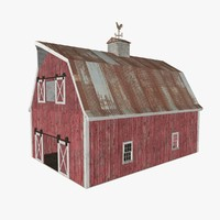 old red barn 3ds