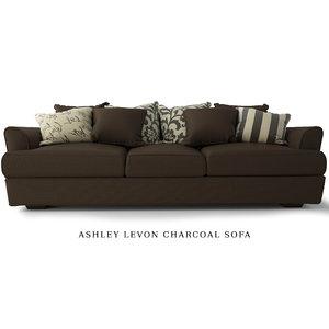 ashley levon sofa max